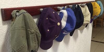 baseball caps can be used in a T-shirt Quilt