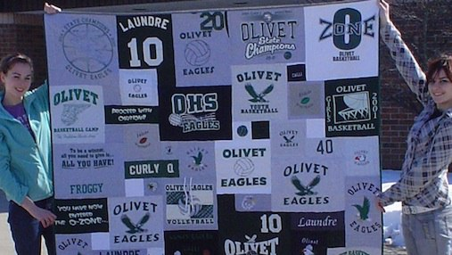 Read about how to plan a graduation quilt here.