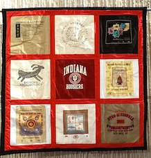 traditional T-shirt quilt