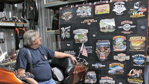 Click here to see more Harley Davidson Tshirt quilts
