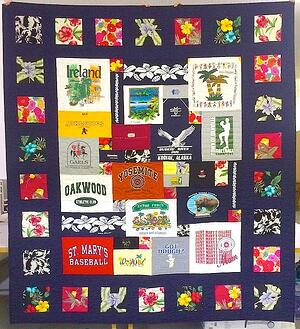 Memorial quilt From moms clothing