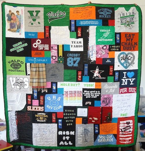 graduation quilt story of your life