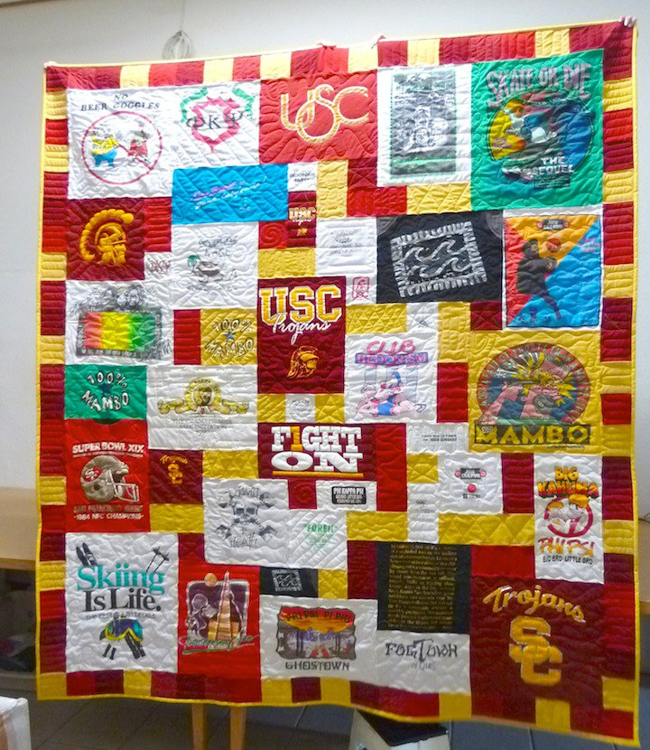 Who Can Make Me T Shirt Quilt