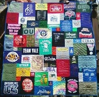 HS T-shirt Quilt