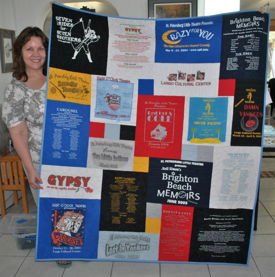 love your tee shirt quilt