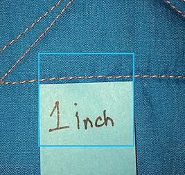 How many stitches per inch for a T-shirt quilt