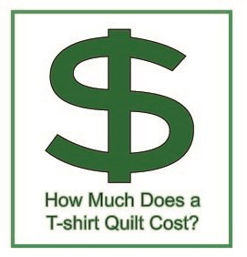 How much does a T-shirt quilt cost?