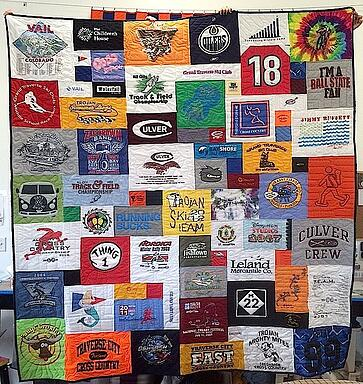 How many T-shirts do you need for a T-shirt Quilt? : quilt from shirts - Adamdwight.com