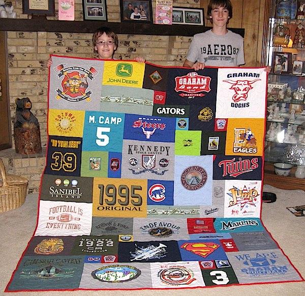 family  T-shirt quilt