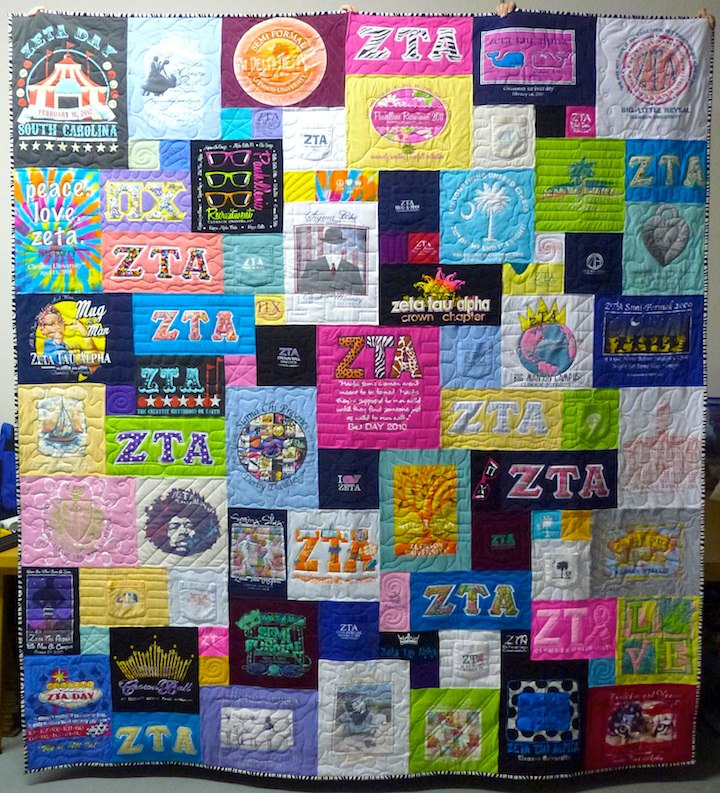 Trends In T Shirt Quilts