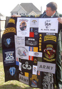 Military T-shirt Quilts : military quilts - Adamdwight.com