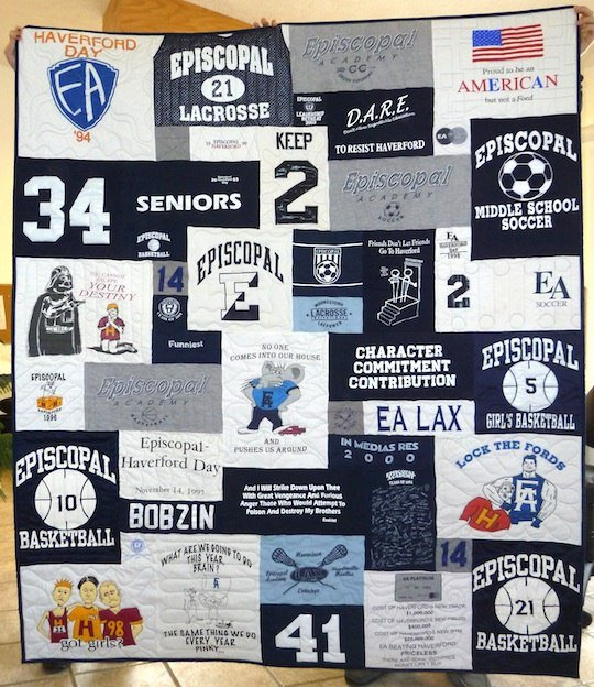 tee shirt quilt field hockey