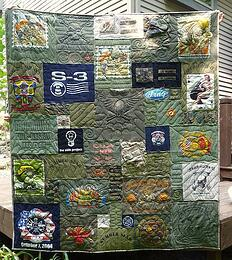 Military T Shirt Quilts