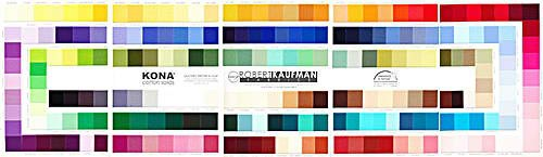 Robert Kaufman Color chart