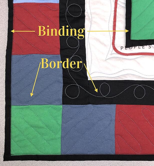 The Difference Between A Binding And A Border On A T-shirt