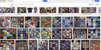googled T-shirt quilts