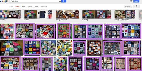 Click here to see photos of Too Cool T-shirt Quilts!