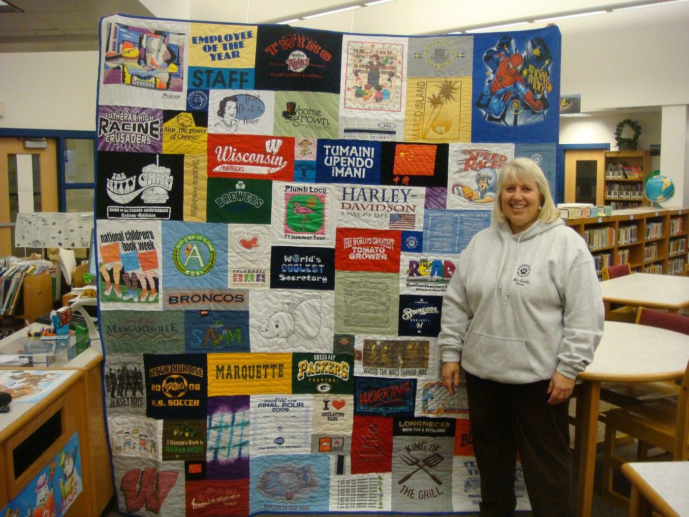 School teach retirement gift