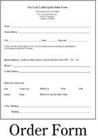 Memorial Pillow Order form