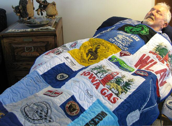Get Well Soon Gift t-shirt quilt