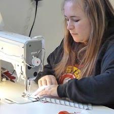 Sewing a T-shirt quilt