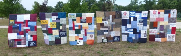 memorial quilts that include plaid