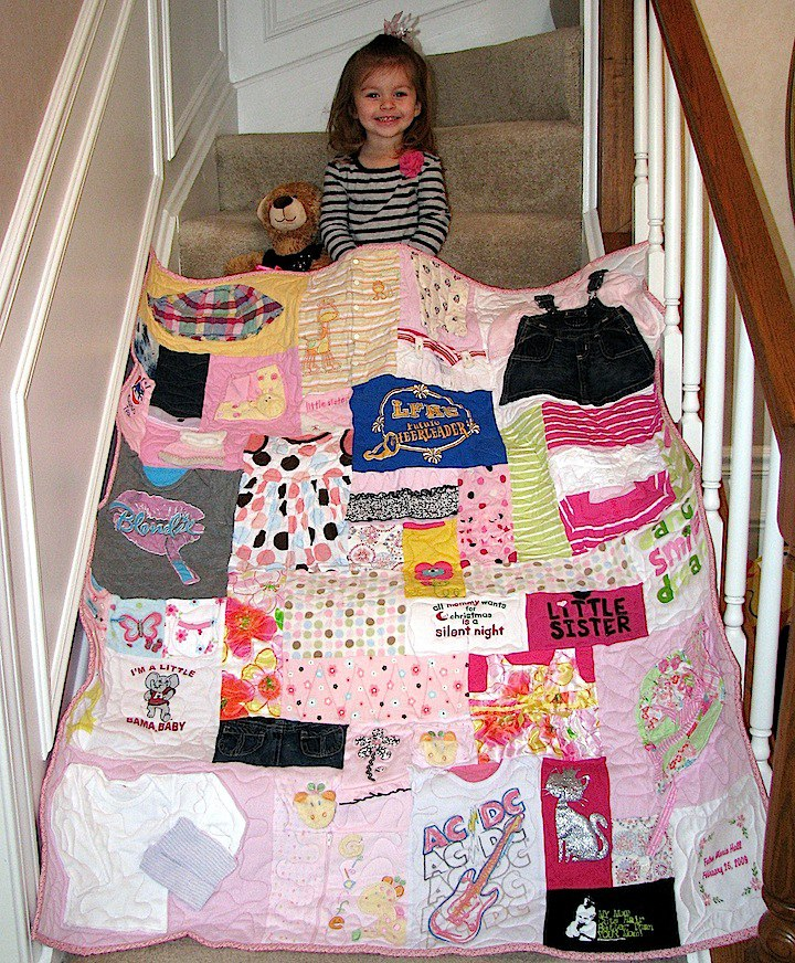 Baby Clothes Quilt Guide