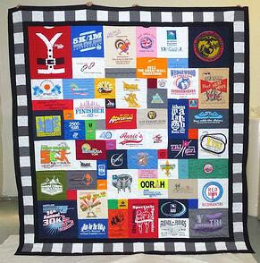 T-shirt Quilt by Too Cool