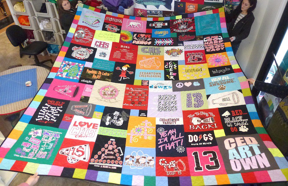 The Best T-shirt Quilts of 2013 : pictures of tshirt quilts - Adamdwight.com