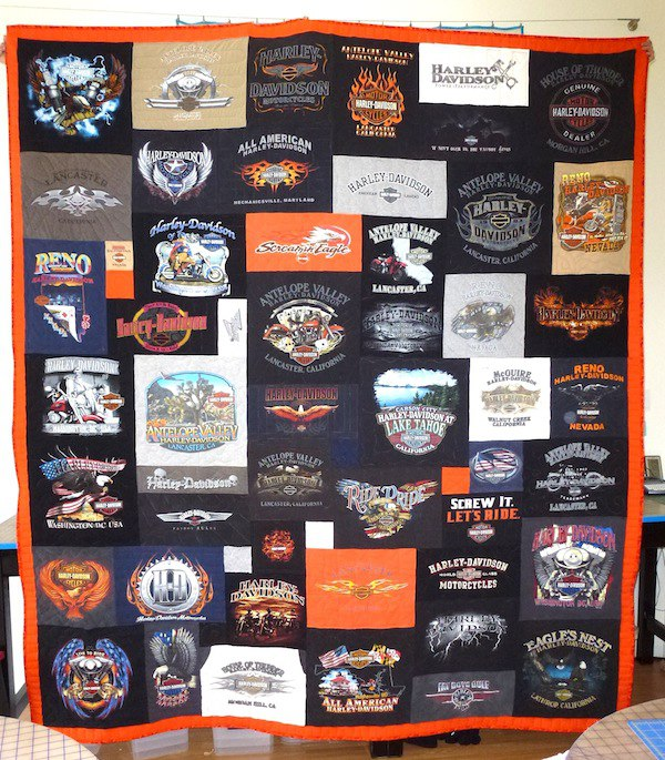 A Tribute To A Harley Davidson Enthusiast