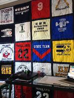 Poorly Made T-shirt Quilt
