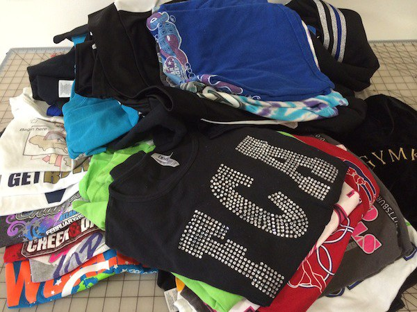 What can you do with too many T-shirts? Have a quilt made.