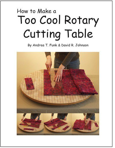 Rotary cutting table directions.