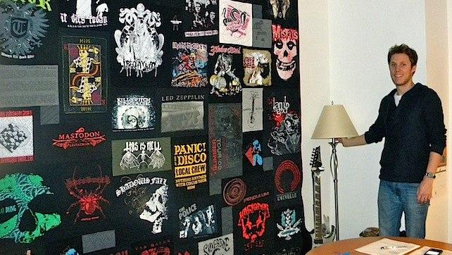 Concert T-shirt Quilt