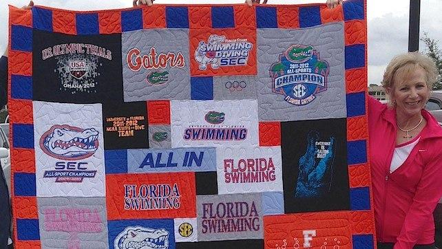 Florida T-shirt Quilt