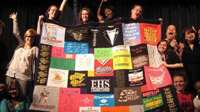 Graduation T-shirt Quilts