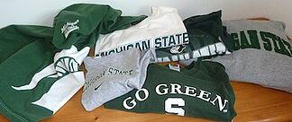 MSU T-shirts for a pillow