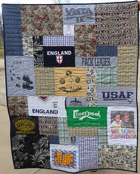 Dealing With the Clothing of a Passed Loved One : memorial quilts - Adamdwight.com