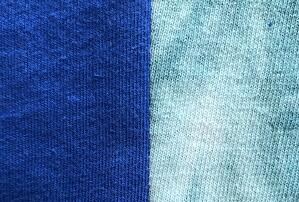 A good seam on a T-shirt quilt should look like this.