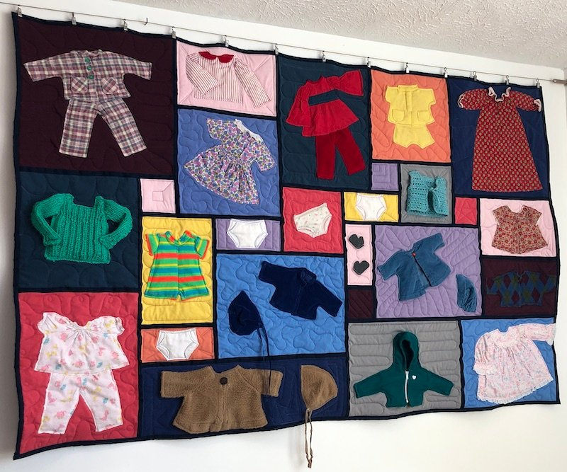 Doll Clothes Quilt