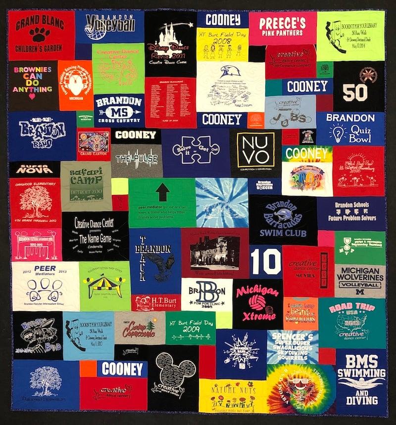 A Too Cool T-shirt quilt