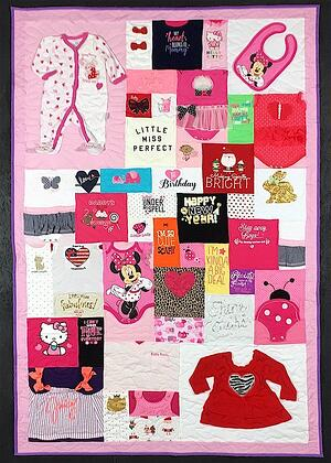 Baby girl complex cute bay clothes quilt