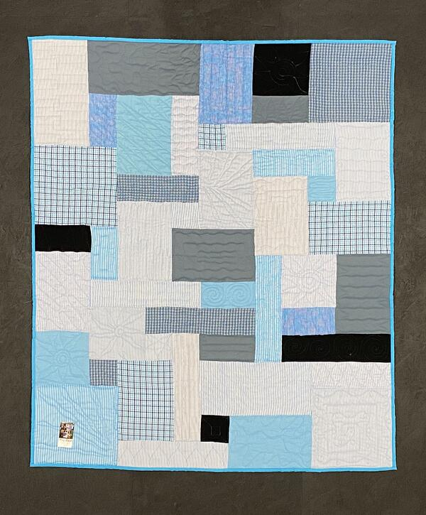 Best of T-shirt quilt of 2020 - Memorial clothing Quilt