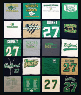 Campus Quilt T-shirt quilt