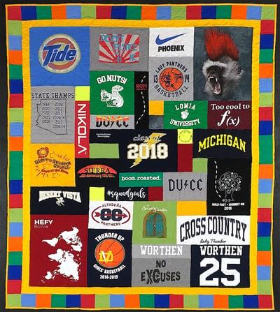 Class of 2019 T-shirt Quilt