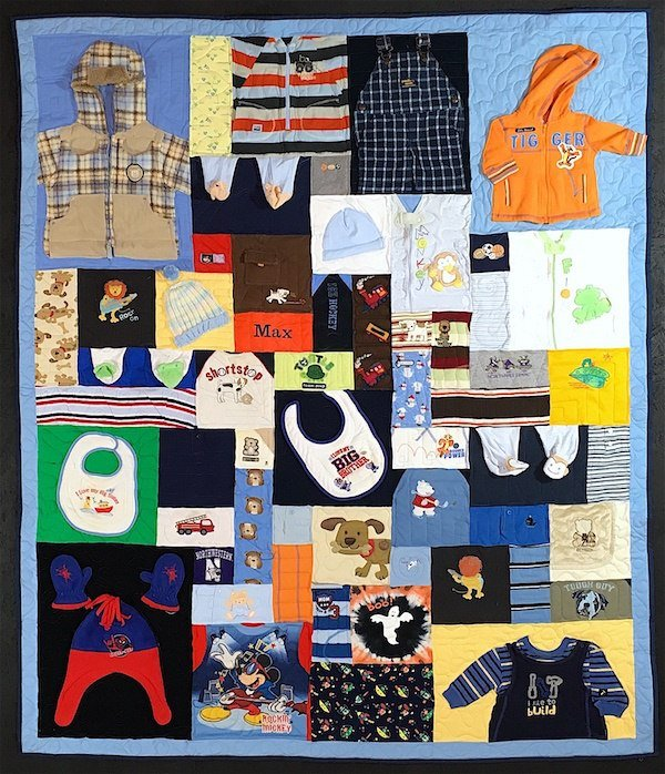 Cute baby clothes quilt complex