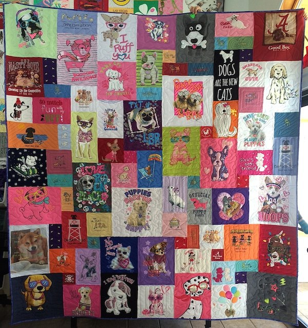 Click on me to see more Too Cool T-shirt Quilts!
