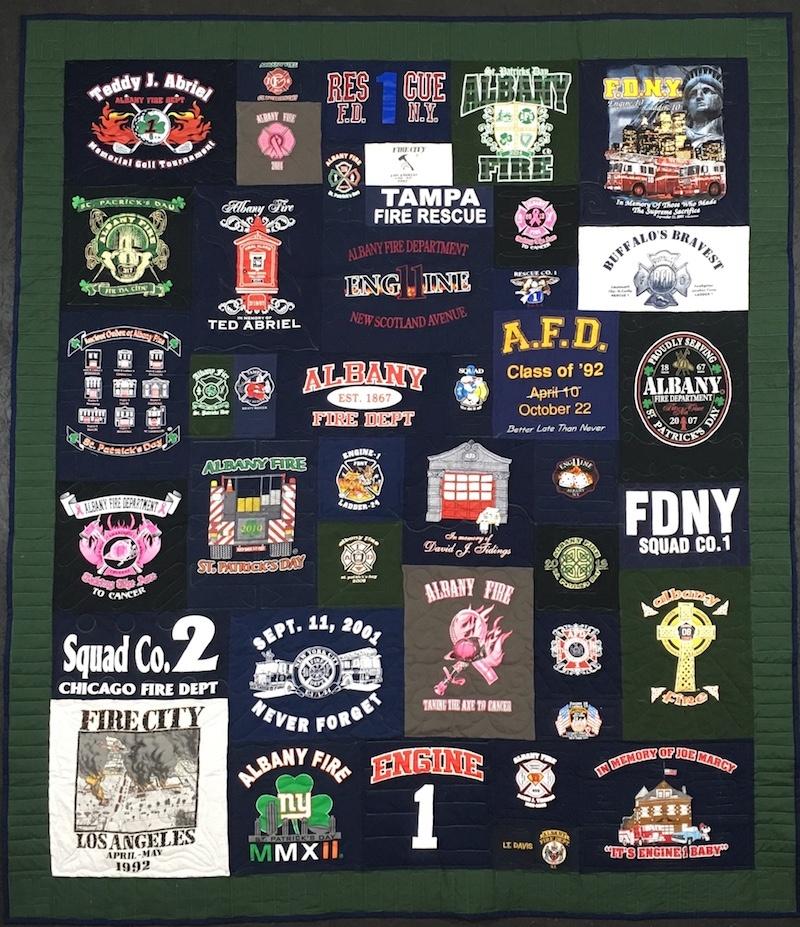 Fire house quilt