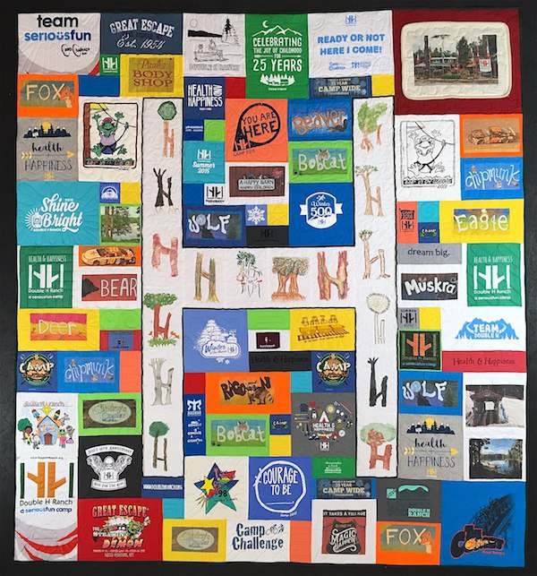 Awesome T-shirt quilt