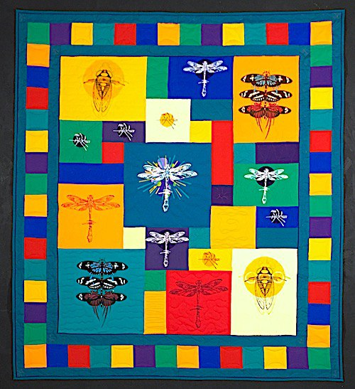 a totally awesome T-shirt quilt
